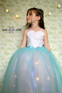 Every little girl would adore to wear to make her feel like a real-life, fairy princess.