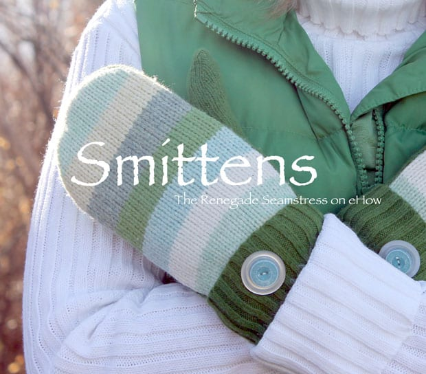 Mittens from your sweaters free tutorial