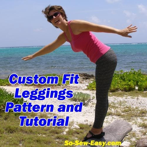 Leggings Free Pattern and Tutorial