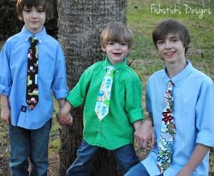 Children's Tie Free Tutorial