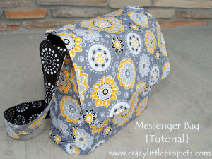 Messenger Bag Free Tutorial