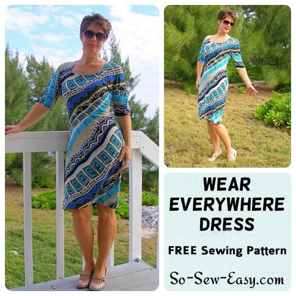 Wear Everywhere Dress Sewing 4 Free