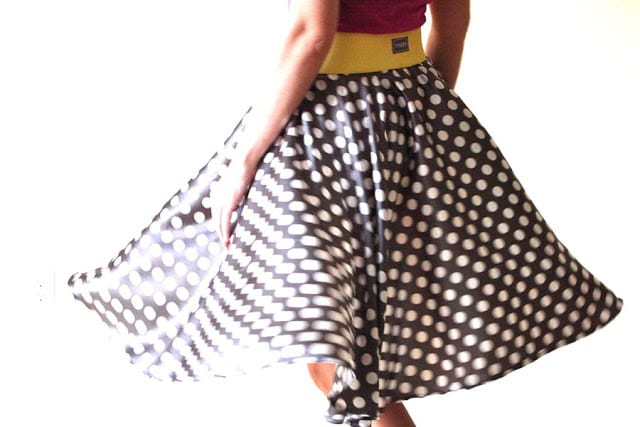 Circle Skirt FREE Sewing Tutorial