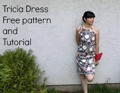 Free dress pattern - Tricia dress tutorial