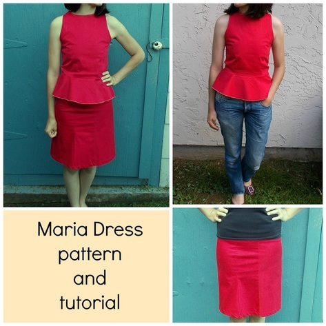 Maria dress set 3 in 1