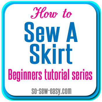 Sewing tutorial - Zipper feet