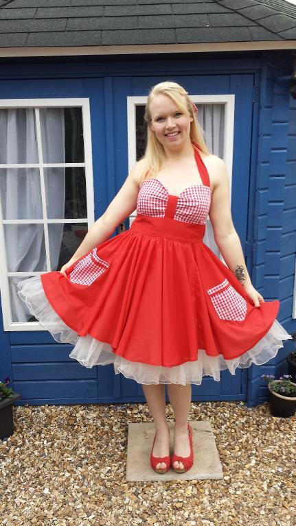 The Allie dress tutorial
