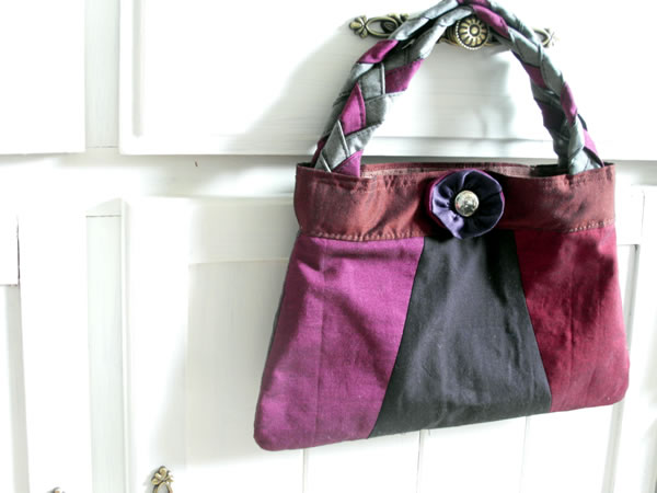 Evening bag pattern and tutorial