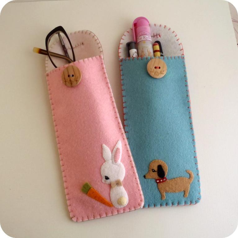 Free pencil or glasses case