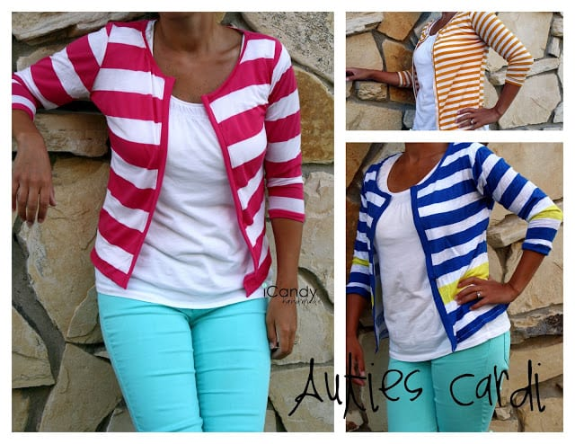 Cute cardi pattern and tutorial
