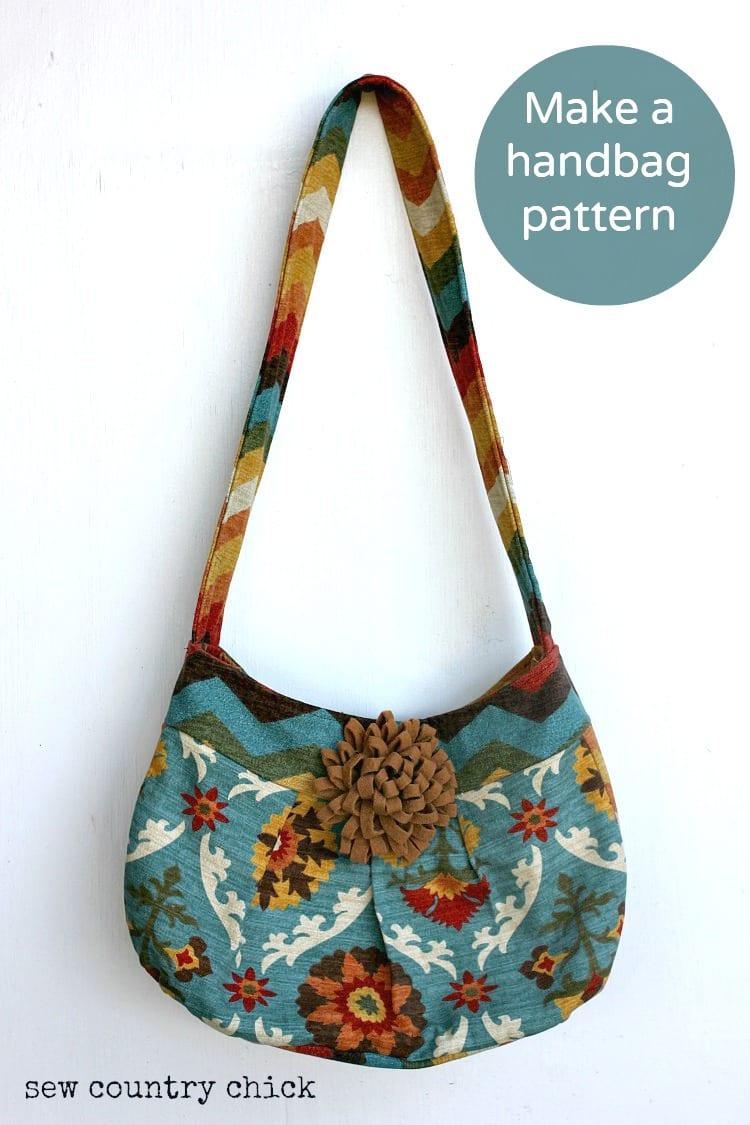 How to make a handbag tutorial sewing 4 free