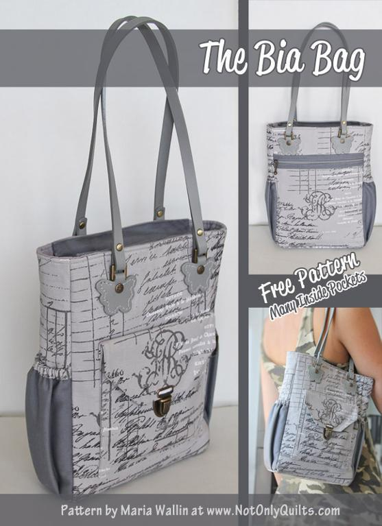The Bia bag pattern