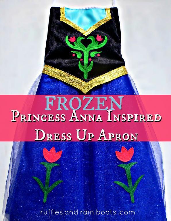 FROZEN-Inspired Princess Anna Dress