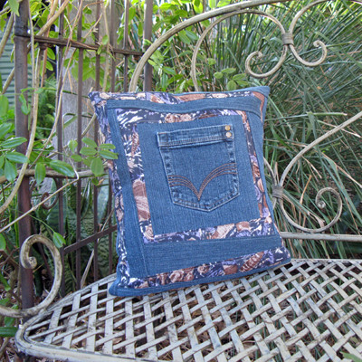 Jeans Pocket Cushion Tutorial