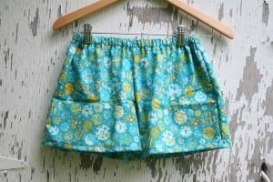 Pajama shorts tutorial and pattern