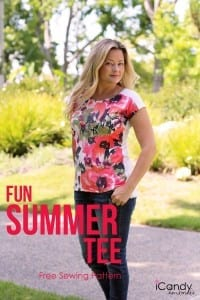 Fun Summer Tee pattern