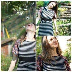 Raglan Dress pattern and tutorial