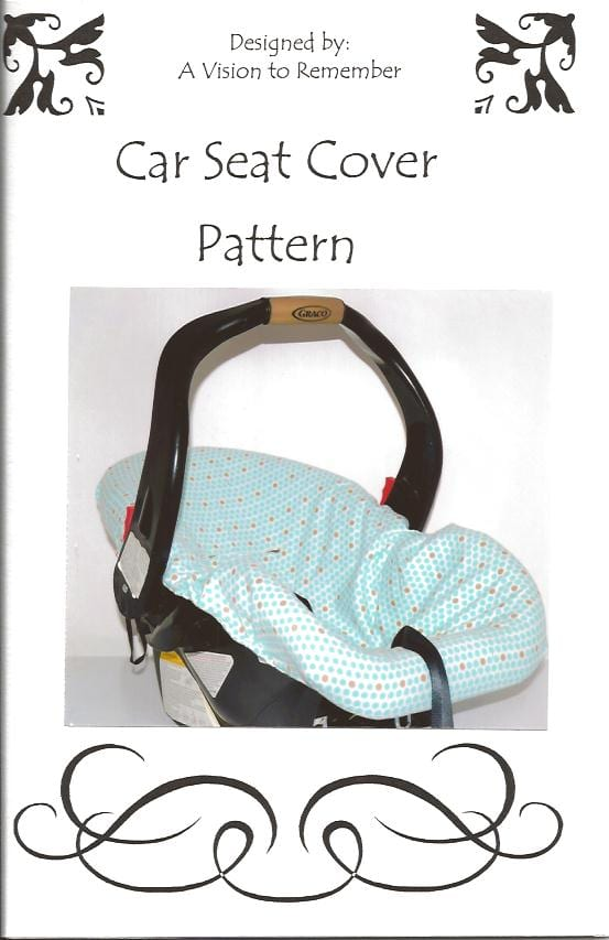 Car Seat Cover Pattern - Sewing 4 Free
