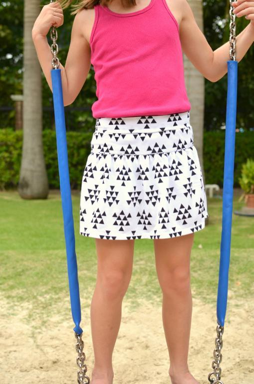 Monkey Bar Skirt pattern