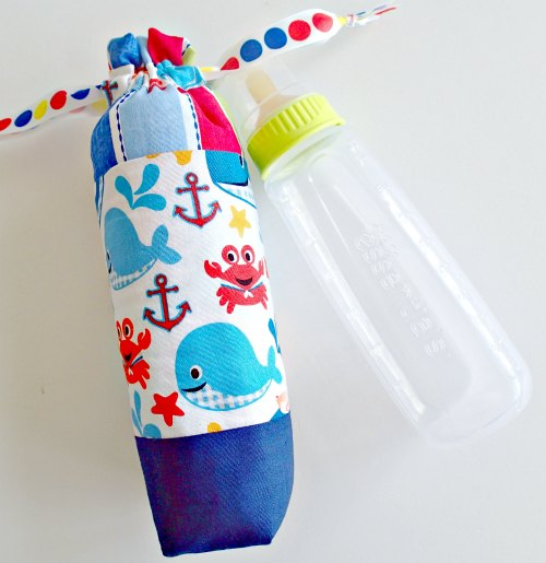 Insulated baby bottle cover