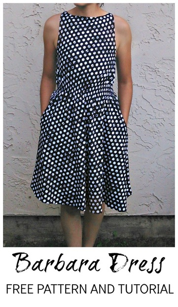 Barbara Dress pattern