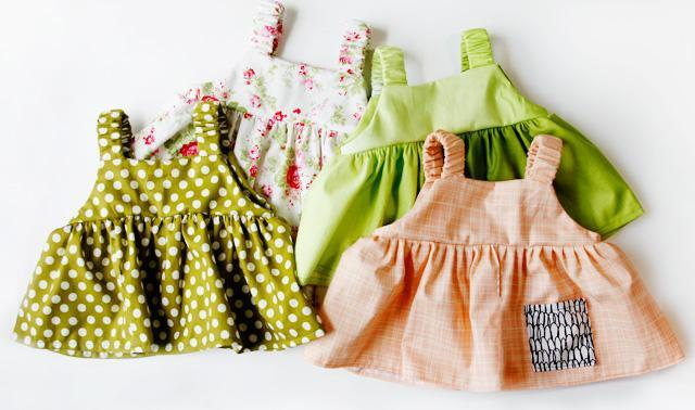 FREE summer baby dress pattern