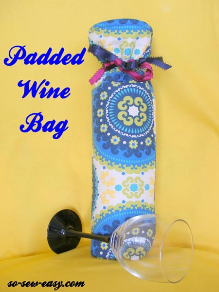 Wine bag pattern