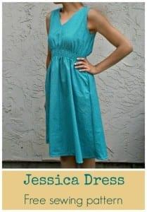 Jessica Dress free pattern