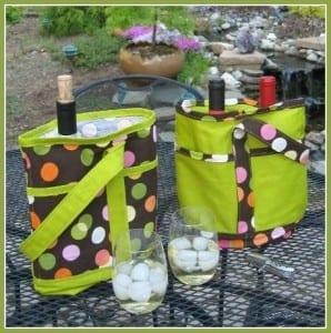 Sew wine totes free pattern