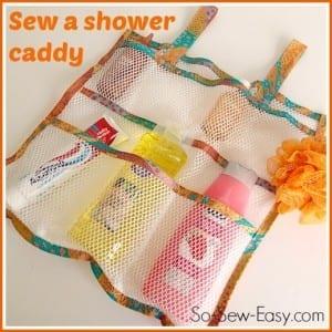 Mesh shower caddy
