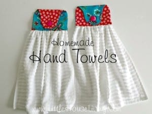 Homemade Hand Towel