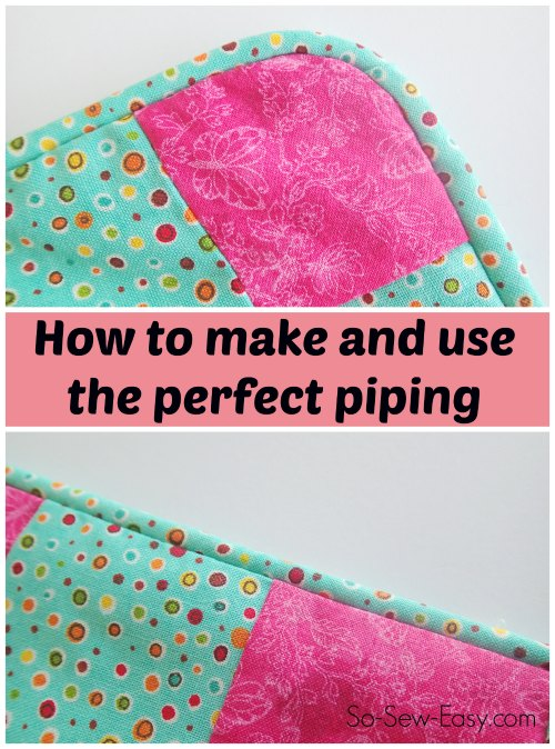 How to make piping tips