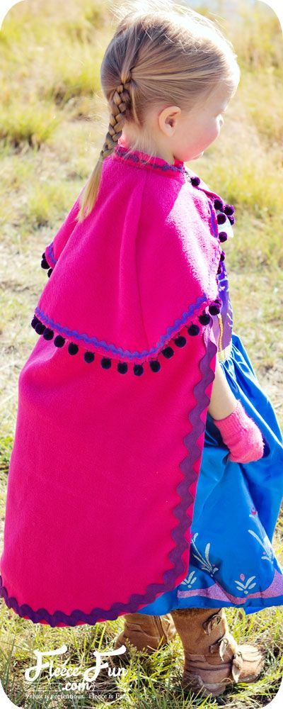 Frozen Princess Anna cape pattern