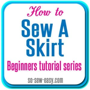 How to sew an invisible hem