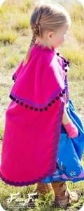 Frozen Princess Anna cape pattern