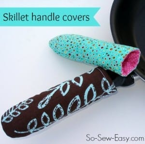 Skillet handle cover pattern