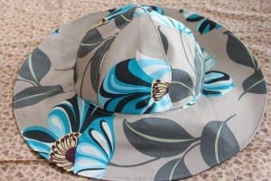 Sun and rain hat pattern