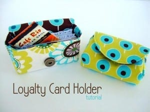 Loyalty Card Holder Pattern