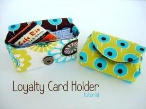 Loyalty Card Holder Pattern