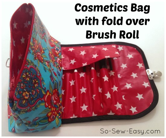 Cosmetics bag pattern
