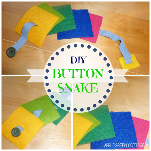 Button snake tutorial