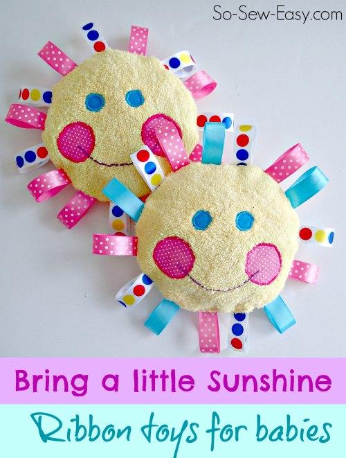 Handmade baby toys