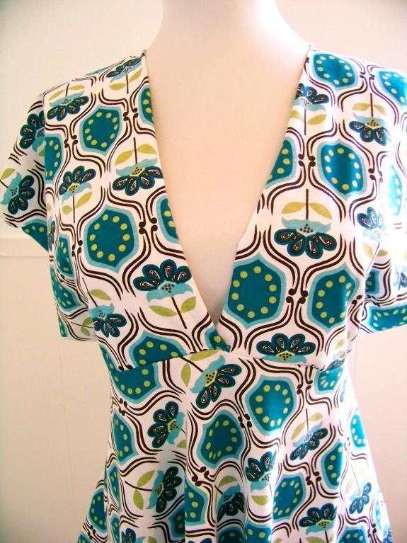Spring blouse pattern