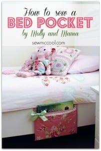 DIY bed pocket