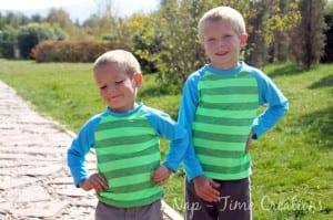Free Raglan Shirt Pattern Kids
