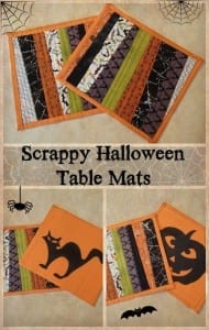 Halloween table mats