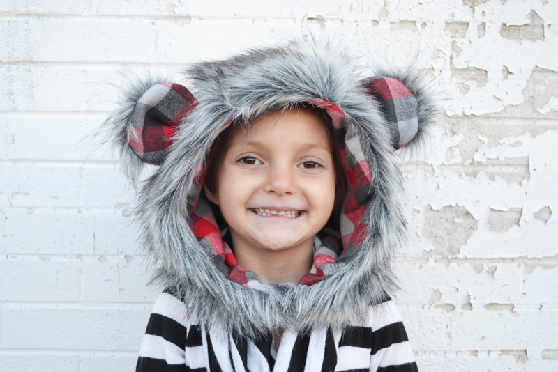 Fur hood pattern