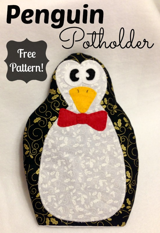 Penguin pot holder