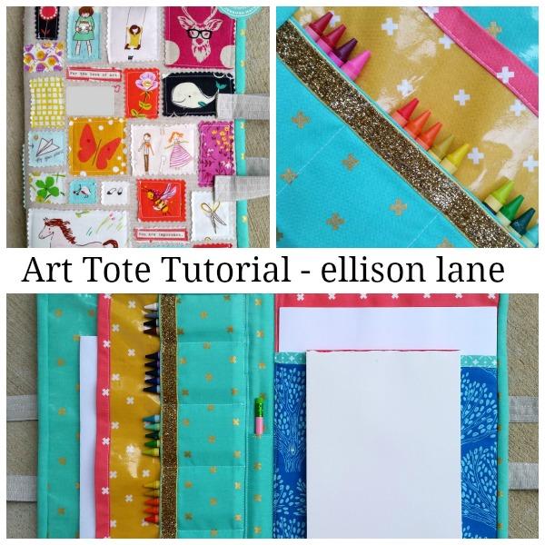 Art tote pattern