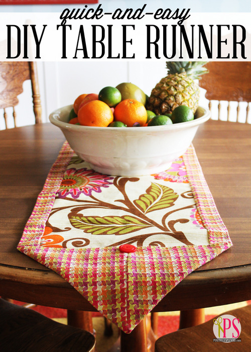DIY table runner pattern
